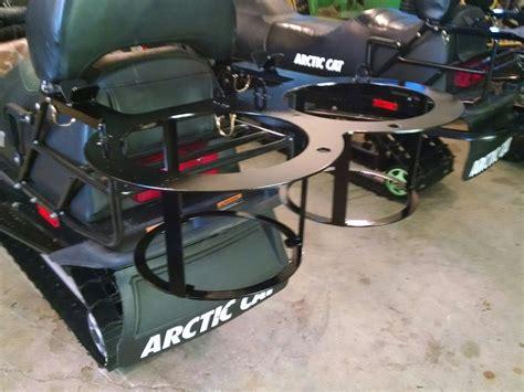 Snowmobile Rack For by Snowmobile Rack Fishing Forum In Depth Outdoors
