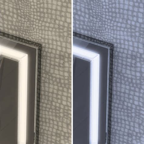 60 bathroom mirror hib spectre 60 led bathroom mirror 800 x 600mm 79520000