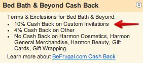 bed bath and beyond free shipping code triple dip with raise frugalhack me