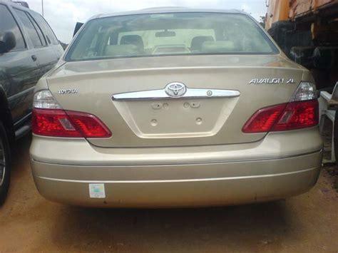 2003 Toyota Avalon Problems 2003 Toyota Avalon Xls Autos Nigeria