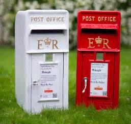 adela rosa wedding post box