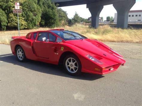 Pontiac Fiero Based Ferrari Enzo Replica Is A Fail Dpccars