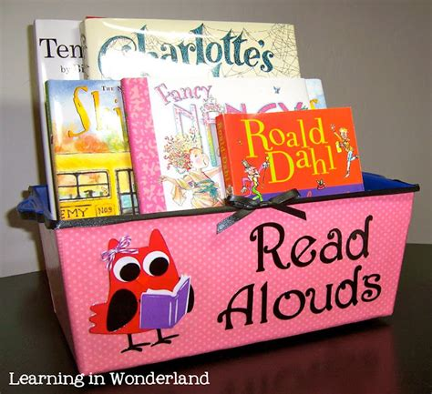 A Place Read Aloud Staying Organized Learning In