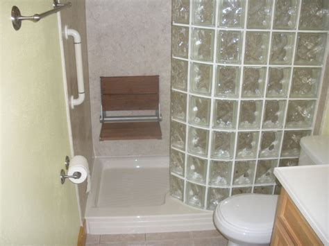 converting a bathtub to a walk in shower bathtub to glass block walk in shower conversion shower tub safety grab bar fold