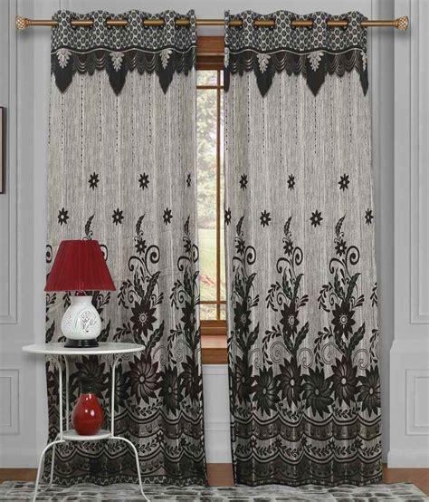 brown floral curtains mangolia decor raindrop jacquard brown floral window