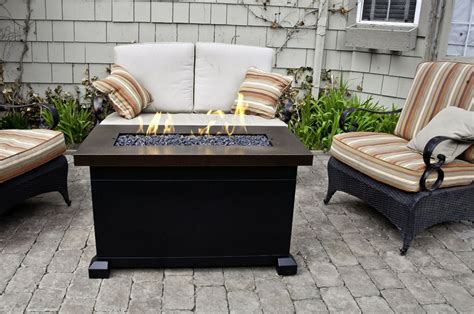 outdoor propane firepits portable pit home decorator shop