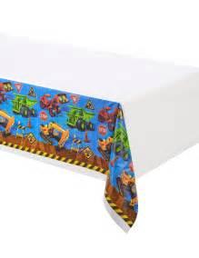 Tischdecken Größe by Plastik Tischdecke Baustelle 137 X 274 Cm G 252 Nstige