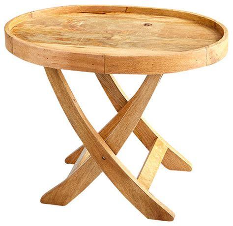 rustic tv tray tables cyan design 06994 rustica tray table rustic
