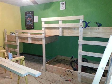 Corner Bunk Bed Plans Bunk Bed Plans Bunk Beds Big Boys Room Corner Bunk Beds Middle