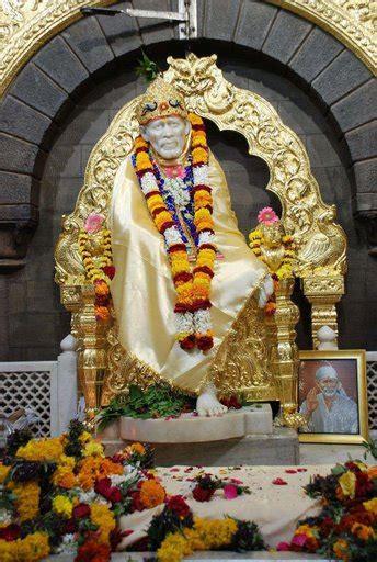 Sai Baba Temple Trip Shirdi Shrine Place Of Shri Sai Baba