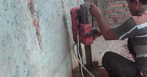 KONTRAKTOR WATERPROOFING INDONESIA: CORING / CORING DRILL