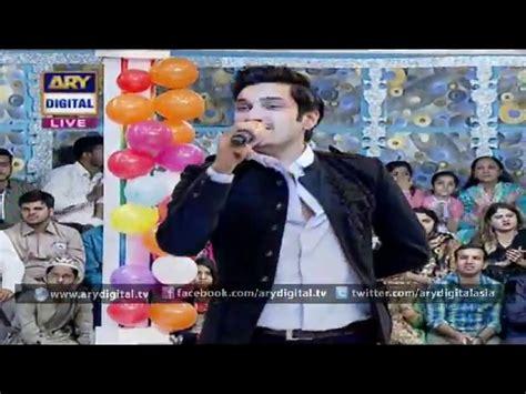 film nabi uzair tere bin by uzair jaswal in jeeto pakistan 100th episode