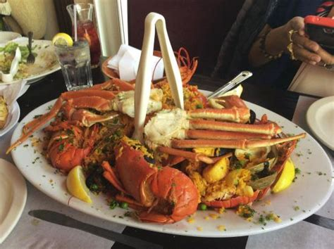 lobster house city island grilled seafood plate picture of city island lobster house bronx tripadvisor