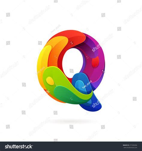 design elements volume q letter volume logo vector design stock vector 277208306
