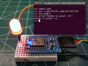 programming the micro bit getting started with micropython books overview building and running micropython on the esp8266