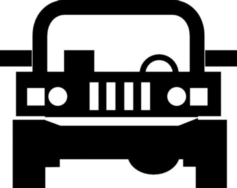 icon 4x4 jeep jeep 4x4 vehicle icons free download