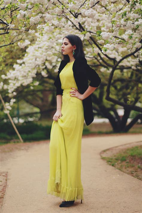 wear maxi dresses  work glam radar
