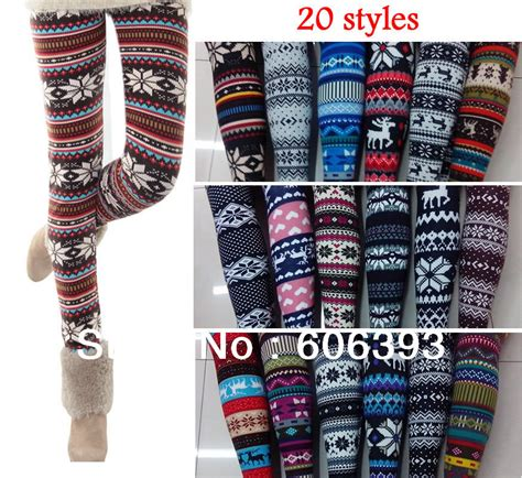 patterned christmas tights 2013 new fashion women s snow christmas tree patterned