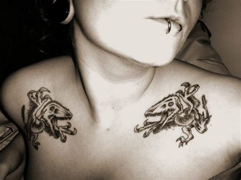 quirky tattoo pictures funny and strange tattoos with dinosaurs sawpedia