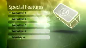 free adobe encore menu templates dvd motion menu template adobe encore retro