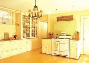 Yellow Kitchen Walls - the yellow kitchen flavors and more magazine