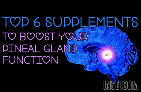 How To Decalcify Shower by Top 6 Supplements To Boost Your Pineal Gland Function Believe It Metaphysical Spirituality