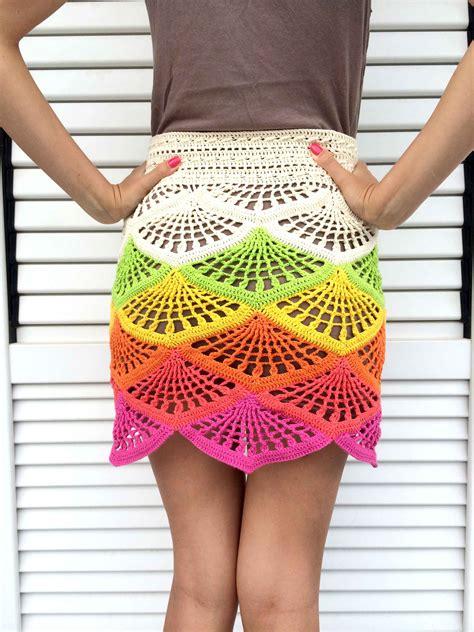 crochet skirt crochet mini skirt tutorial beautiful crochet stuff