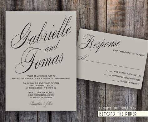 modern wedding invitations templates cheap wedding invitations 50 of the best wedding
