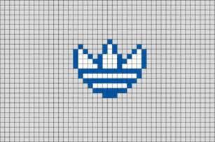 adidas pixel art brik