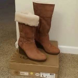 47 ugg boots new ugg wedge quot joslyn quot boot size 9