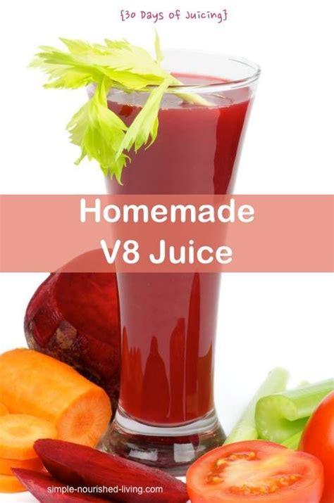 V8 Juice Detox by V8 Juicer Recipe 30 Days Of Juicing Recipe