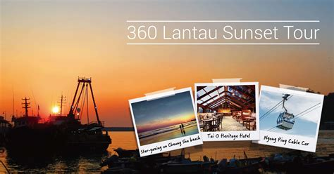 design banner tour 360 lantau sunset tour attraction of lantau tourism
