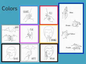 asl colors top american sign language colors images for tattoos