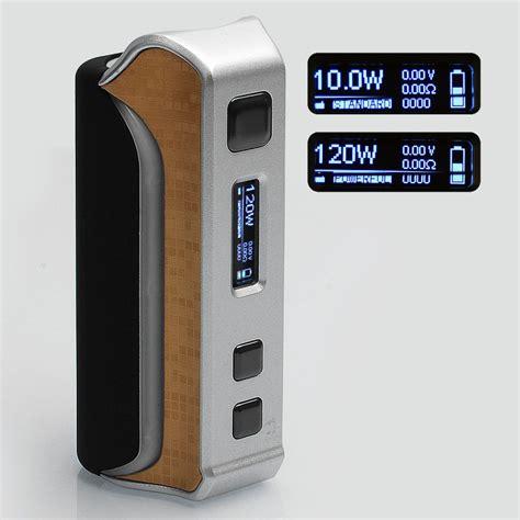 Authentic Ipv Velas 120w Tc authentic pioneer4you ipv velas 120w silver tc vw variable wattage mod