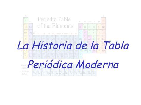 historia de la tabla periodica historia de la tabla peri 243 dica
