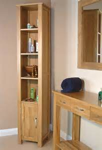 solid oak bathroom cabinet design contemporary storage