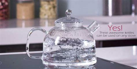 Glass Water Kettles