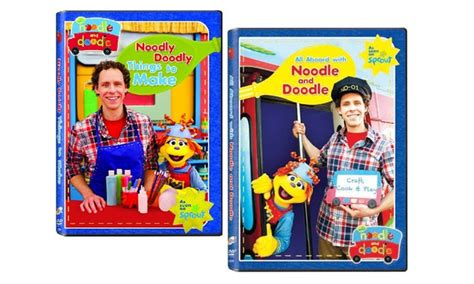 noodle and doodle noodle and doodle dvd 2 pack groupon goods