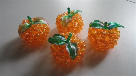 bead projects cny tutorial no 20 bead crafts mandarin orange