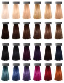 hair dye colors hair color chart