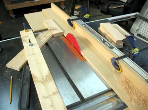 poor mans jointer jig  table  woodworking talk