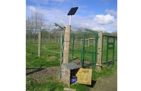 how to a with an electric fence how to make solar electric fence ecofriend