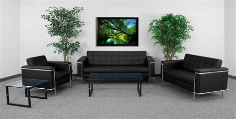 waiting room furniture modern leather reception sofa btod tufted leather reception