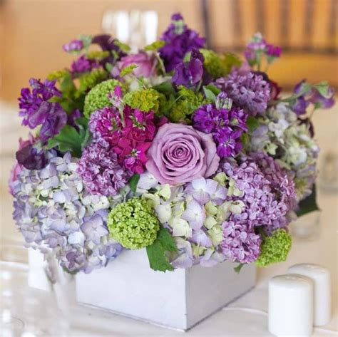 purple flower arrangements centerpieces 17 best ideas about purple flower arrangements on