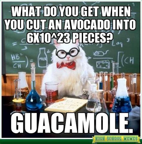 Chemistry Cat Memes - this is great the geeky side of me pinterest jokes