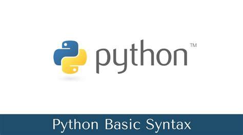 python tutorial in w3schools python basic syntax python syntax list w3schools