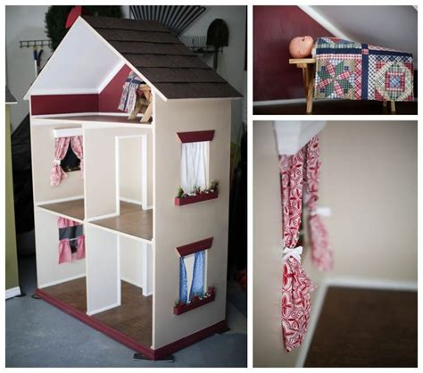 how to make an 18 inch doll house items similar to american girl doll house for 18 inch dolls the alyssa on etsy