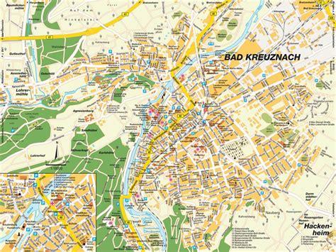 Home Design Map Free by Map Bad Kreuznach Rheinland Pfalz Germany Maps And