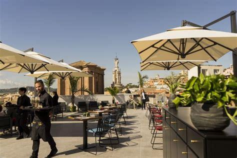 ristorante terrazza rinascente la rinascente tritone apre a roma foto e protagonisti