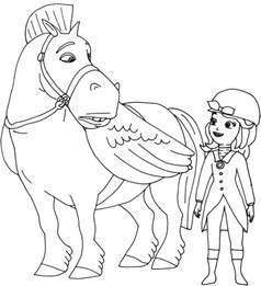 10 disney princess sofia curse princess ivy coloring pages